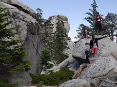 Rock Climbing Photo: Hanging out by TCC