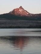 Rock Climbing Photo: Mt WA, as seen from Big Lake. North ridge on left.