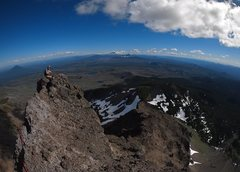 Rock Climbing Photo: summit view