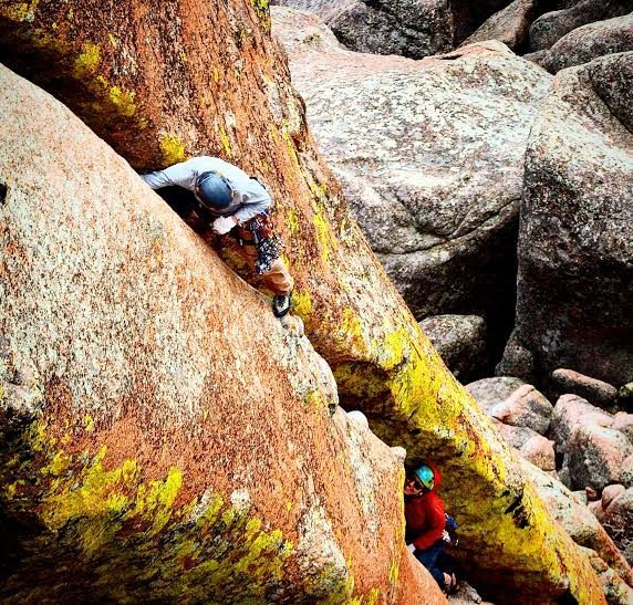 Rock Climbing Photo: Hold my beer, and watch this.  Photo: Dylan Hall.