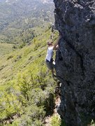Rock Climbing Photo: Solo of the southern formation mid hike