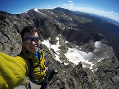 Rock Climbing Photo: Coming down Donner Ridge after climbing Blitzen Ri...
