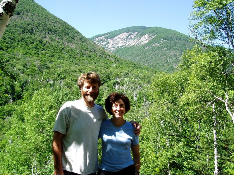 Rock Climbing Photo: Approach Photo#1 - Ed & Sheila and the East Face f...