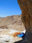 Rock Climbing Photo: Rope tricks, Chimney Rock