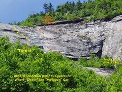 Rock Climbing Photo: Some East Cirque Climbs