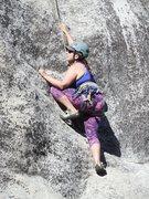 Rock Climbing Photo: Enjoying some great features on Zyzzyx.
