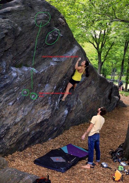 Rat Rock Dyno Moves. Photo found online