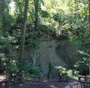 Rock Climbing Photo: approaching amphitheater as seen from walking off ...