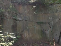 Rock Climbing Photo: pic of left most section of amphitheater area