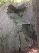 Rock Climbing Photo: broken corner area, just right of middle main wall...