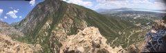 Rock Climbing Photo: Rock canyon