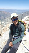Rock Climbing Photo: Exhausted on top of Matterhorn Peak