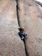 Rock Climbing Photo: Monster crack.
