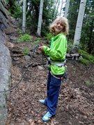 Rock Climbing Photo: She's getting so big!