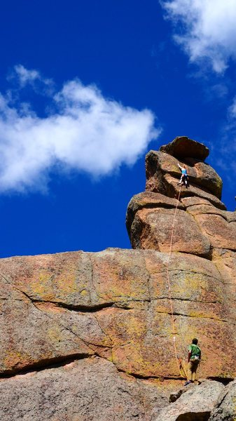Rock Climbing Photo: Modern Art.
