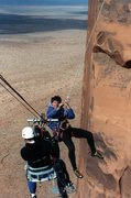Rock Climbing Photo: 35mm production Merrill Lynch