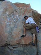Rock Climbing Photo: Another neat route in Tenaja