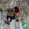 Natasha, climbing like a girl.