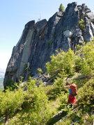 Rock Climbing Photo: the 10 min. approach to Punk Rock.But don't cr...