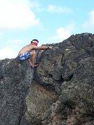 Rock Climbing Photo: Cruising Iguana driveV6 sea level boulder