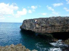 Rock Climbing Photo: Driving on the iguana,,, super fun...