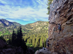 Rock Climbing Photo: Early July Creekside climbing