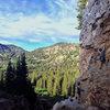 Early July Creekside climbing