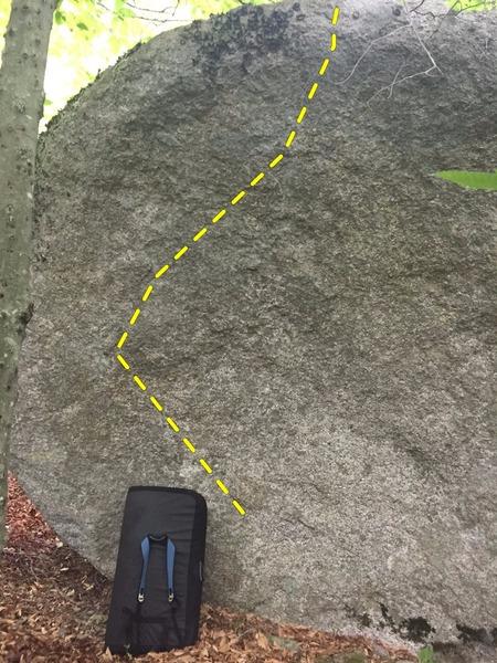 Rock Climbing Photo: MPB Left , Trichotillomania middle