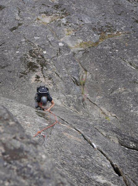 Rock Climbing Photo: cocaine crack
