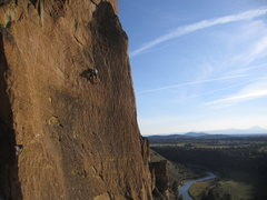 Rock Climbing Photo: Nubbin hoppin on SYZ. Fun route!