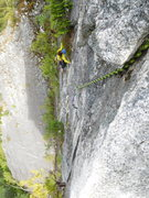 Rock Climbing Photo: Pitch 4. remember to protect for your follower, th...