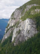 Rock Climbing Photo: the view from New Life on the North North Arete.