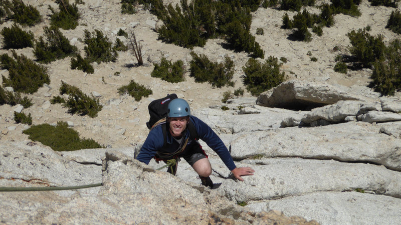 Daniel climbs Southeast Buttress of Cathedral Peak_Yosemite July 2016
