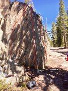 Rock Climbing Photo: South Ridge boulder topo