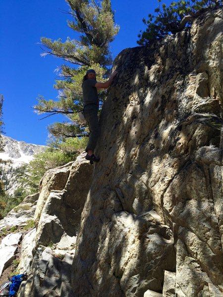 High up on Ridgeline