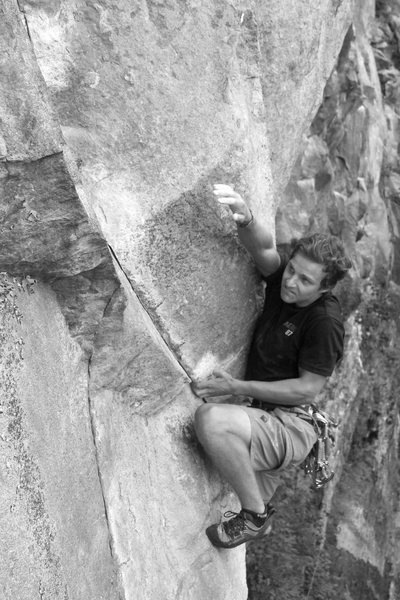 Rock Climbing Photo: one more from the crux