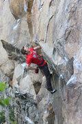 Rock Climbing Photo: Alec, Stylin'