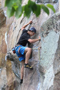 Rock Climbing Photo: Zach, doing it.