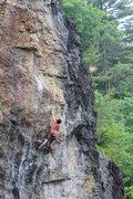 Rock Climbing Photo: high roller