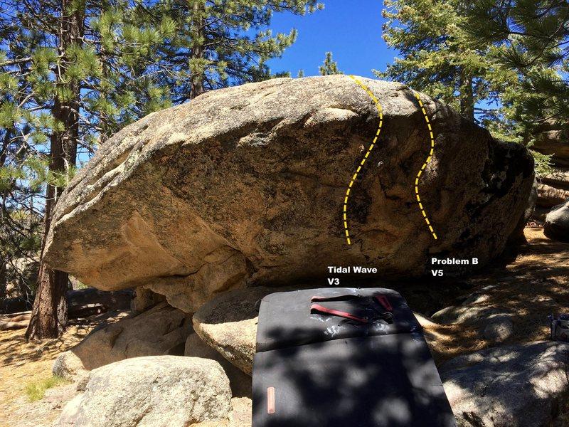 Rock Climbing Photo: South face topo