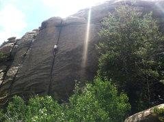 Rock Climbing Photo: Nadiak onsight solo