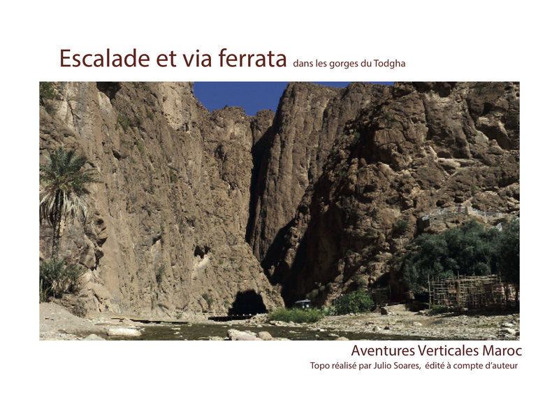 Rock Climbing Photo: Guidebook of climbing in Todra gorges