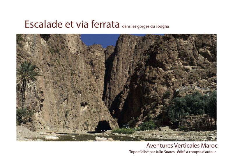 Rock Climbing Photo: Climbing guidebook Todra gorges