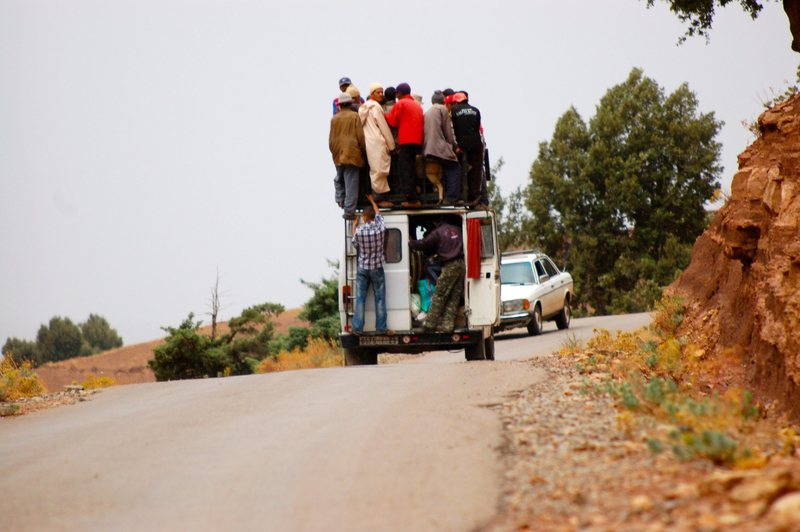 Rock Climbing Photo: Transport