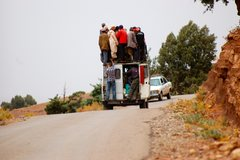 Rock Climbing Photo: Transport
