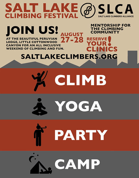 Register at: http://www.saltlakeclimbers.org/events/