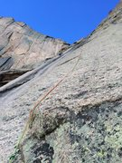 Rock Climbing Photo: The crux pitch of Babies R'Us.