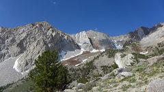 Rock Climbing Photo: Checkered Demon