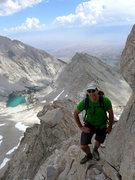 Rock Climbing Photo: Matt (aka King of the Scree)