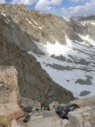 Rock Climbing Photo: mostly fun climbing (minus the kitty litter bits)